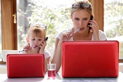 Что нужно от вас вашим детям? Пять задач для мамы.